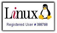 linux registered user